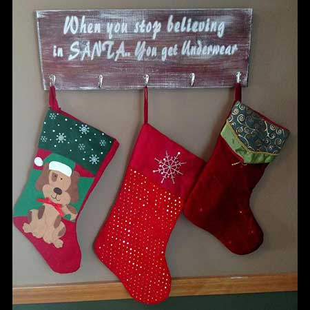 Knotty Pine Woodworks Christmas Signs