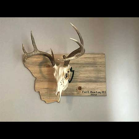Knotty Pine Woodworks Whiskey Racks